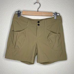 Athleta tan dipper hiking shorts